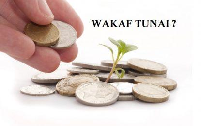 Adakah Wakaf Tunai?
