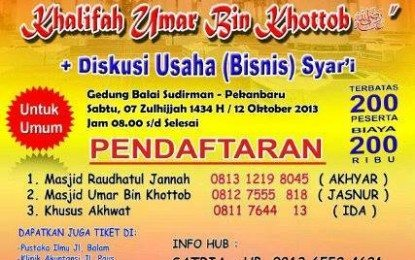 Seminar Ekonomi Nasional Komunitas Pengusaha Muslim Indonesia – Korwil Riau