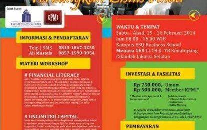 "Workshop Nasional ""financial Literacy Untuk Pengusaha Muslim"""