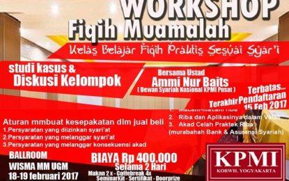 Workshop Kelas Fikih Muamalah KPMI Yogya Bersama Ustadz Ammi Nur Baits