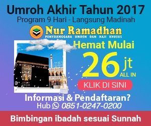 Umrah Sunnah Bersama Nur Ramadhan
